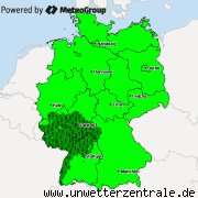 UNWETTERWARNUNGEN
