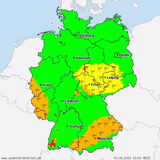 orkanwarnung deutschland