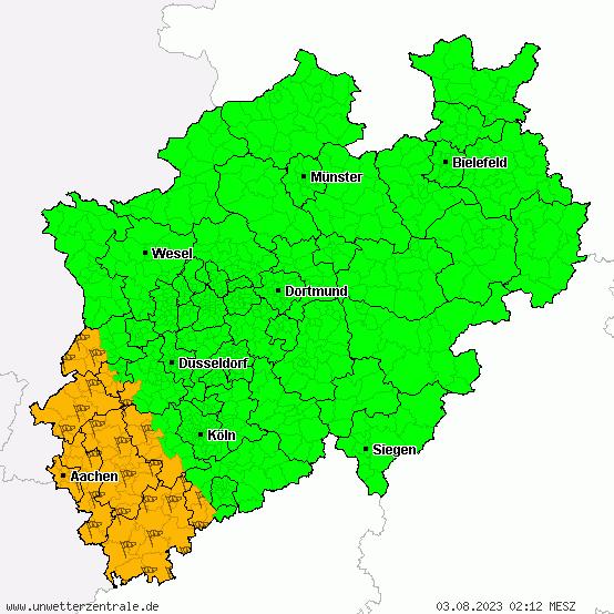 Unwetterzentrale NRW