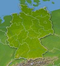 Deutschland-Map