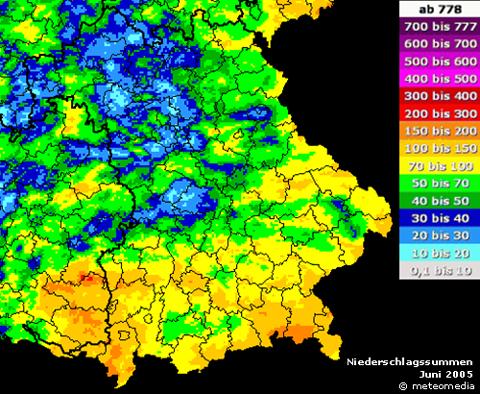 schlimme hochwasser in deutschland