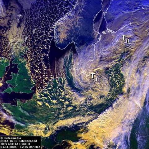 NOAA-Satellitenbild